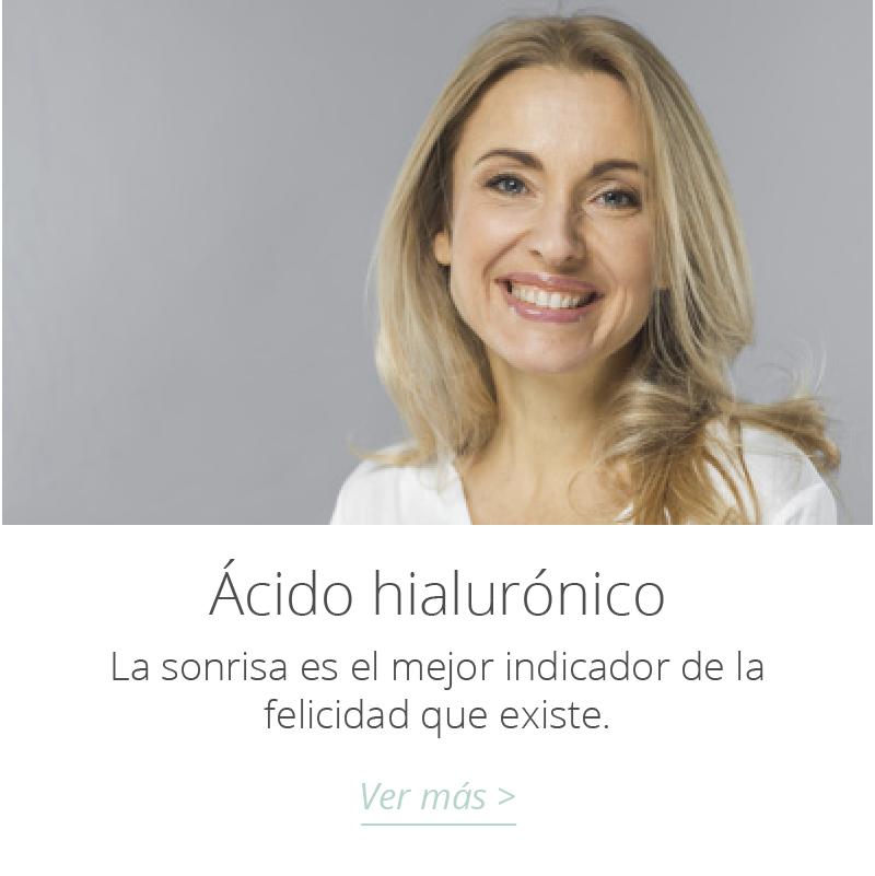 tratamiento ácido hialurónico